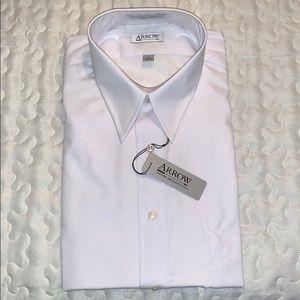 White Button Down Collard Shirt